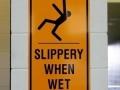slipery